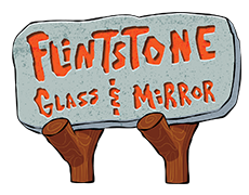 Flintstone Glass & Mirror Logo